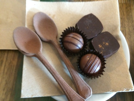 Vegan chocolate !